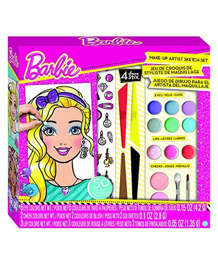 Fashion Angels Barbie Make Up Artist Kit - Pink
