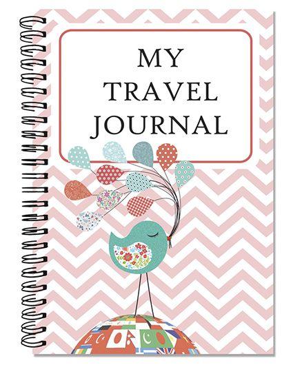 Little Jamun Travel Journal Bird With Balloon Theme