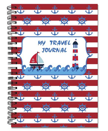 Little Jamun Travel Journal Nautical Theme