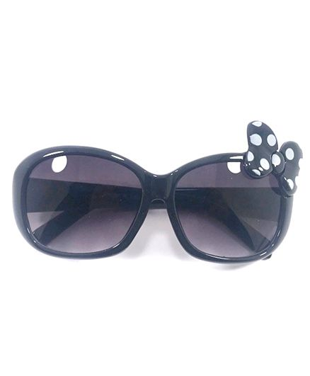 Miss Diva Cute Butterfly Sunglasses - Black