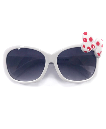 Miss Diva Cute Butterfly Sunglasses - White