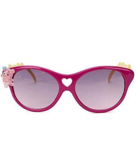Miss Diva Cute Teddy Sunglasses - Magenta