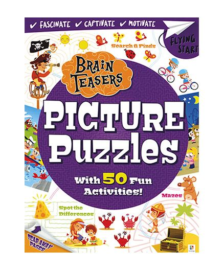 Brain Teasers Picture Puzzles - English