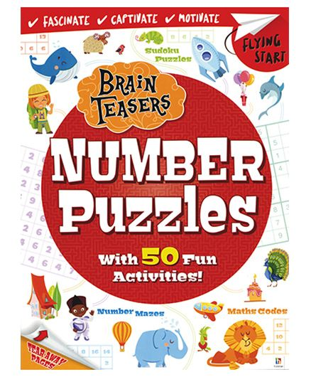 Brain Teasers Number Puzzles - English