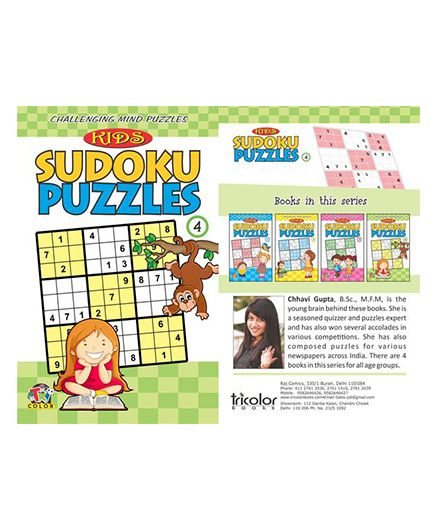 Kids Sudoku Puzzles 4 - English