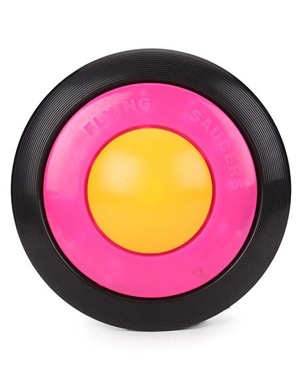 Shadilal Flying Saucer - Yellow Pink Black
