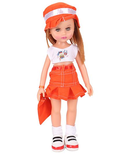 Speedage Ahnna Doll Orange - 33 cm