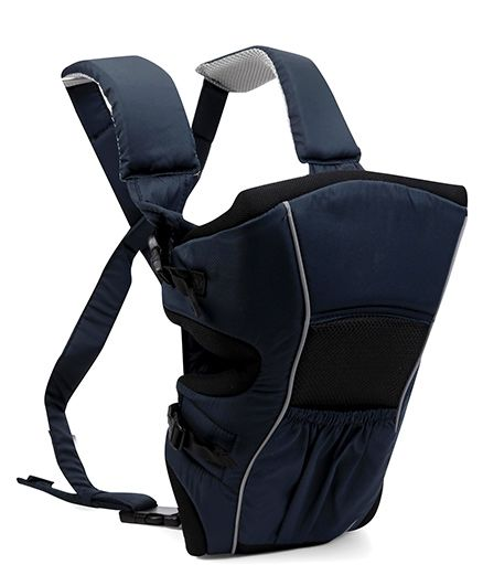 Littles 2 In One Deluxe Baby Carrier - Black