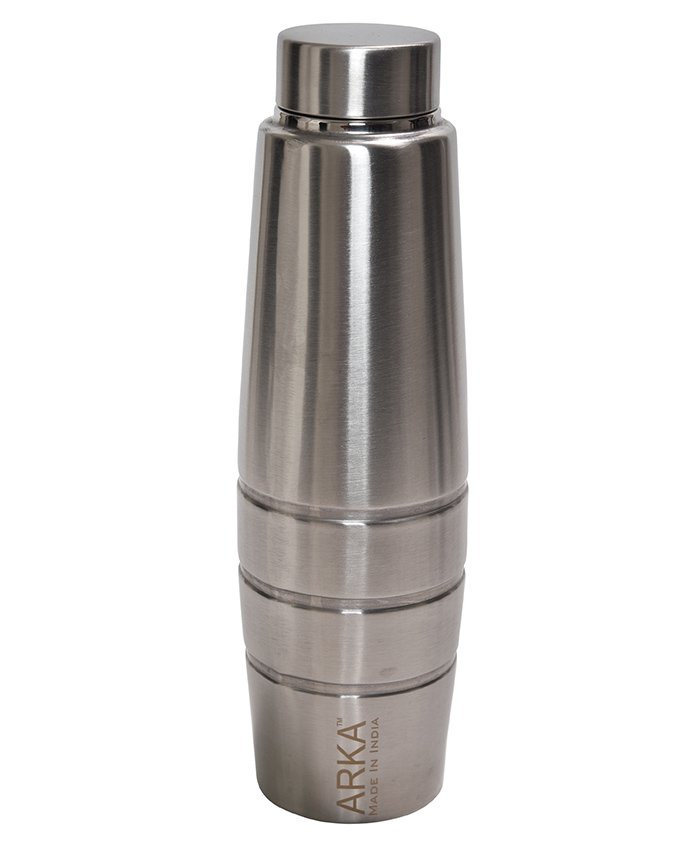 Pexpo Duro Insulated Water Bottle Silver - 1000 ml