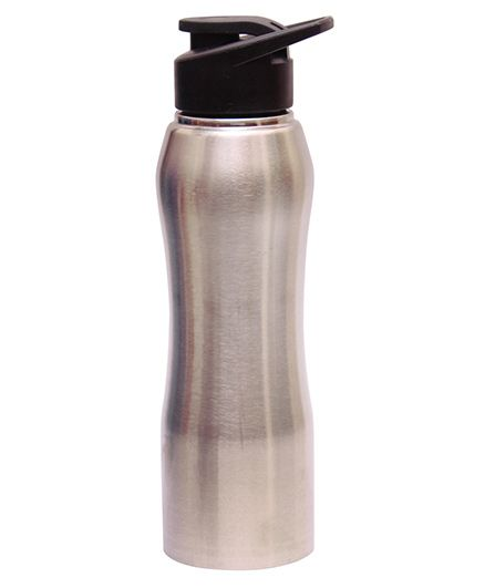 Pexpo Bistro Insulated Sipper Bottle Silver - 750 ml