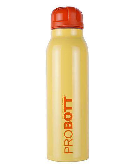 Probott Insulated Sports Bottle PB 600-01 Yellow - 600 ml
