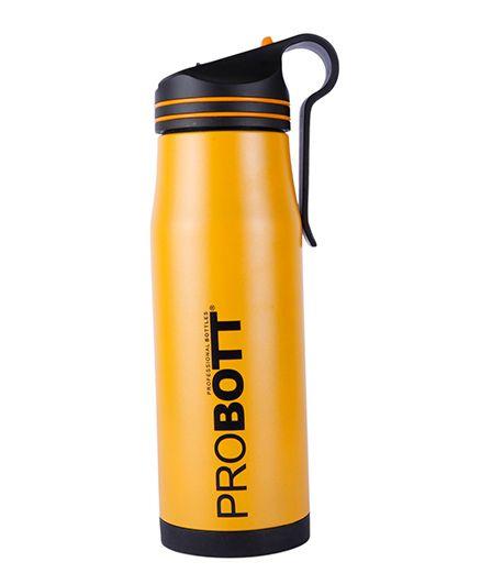 Probott Insulated Sports Bottle PB 600-02 Yellow - 600 ml