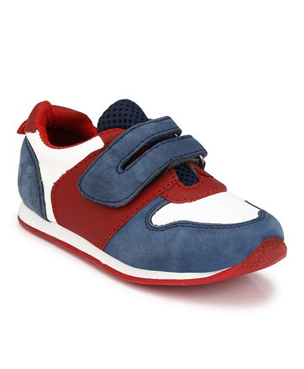 Tuskey Jogger Shoes - Red & Blue