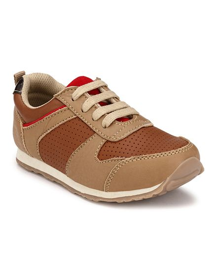 Tuskey Jogger Shoes - Brown