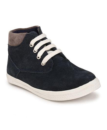 Tuskey High Ankle Boots - Dark Navy Blue