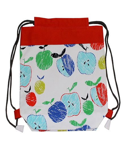 Kadam Baby Drawstring Bag Red - 13 Inches