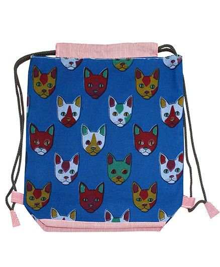 Kadam Baby Drawstring Bag Blue - 13 Inches