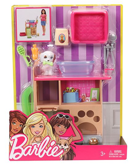 Barbie Puppy Playtime - Multicolour