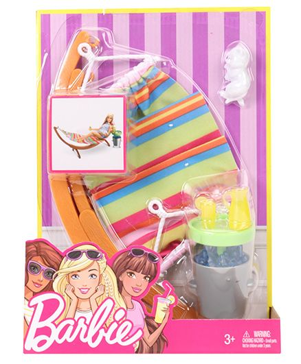Barbie Grill & Chill Set - Multicolour