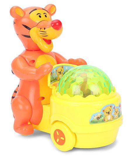 Smiles Creation Scrazy Smart Lucky Tiger - Orange & Yellow