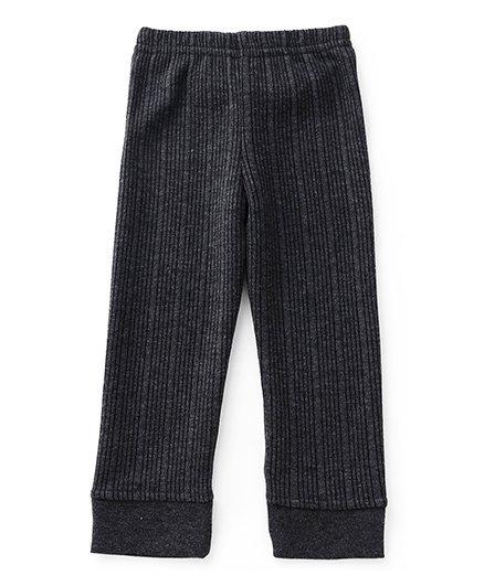 Babyhug Thermal Wear Bottoms - Dark Grey