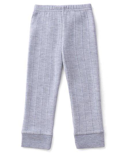 Babyhug Thermal Wear Bottoms - Light Grey