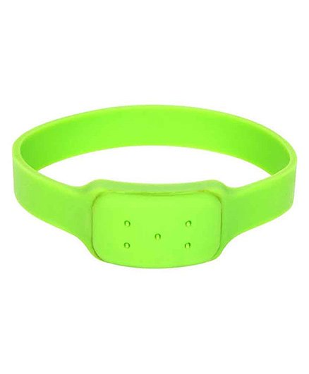 Saef-O-kid Watch Style Mosquito Repellent Band - Green