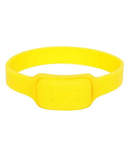 Saef-O-kid Watch Style Mosquito Repellent Band - Yellow