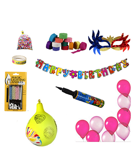 NHR Special Birthday Decoration Kit - 67 Pieces