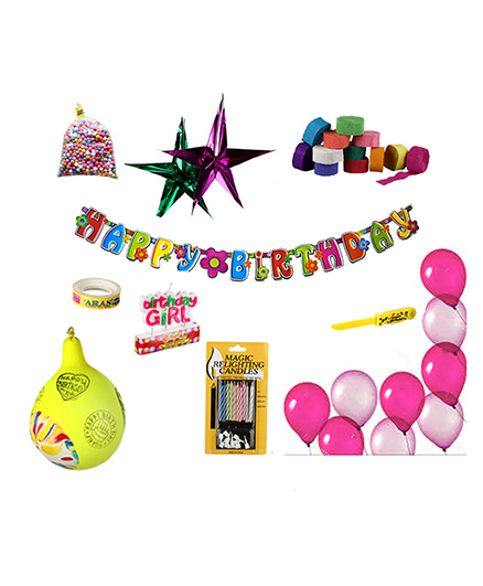 NHR Special Birthday Decoration Kit - 132 Pieces