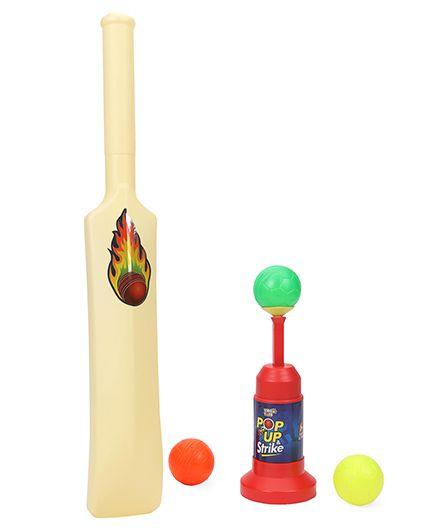Virgo Toys Pop Up & Strike Cricket Set - Multicolor