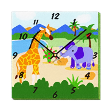 Safari Adventures - Wall Clock