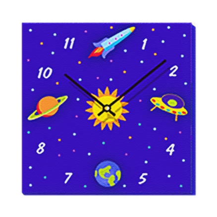 Things I See In Outer Space - Wall Clock