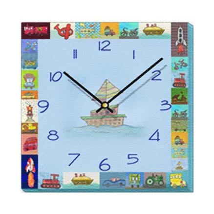 Transport - Wall Clock