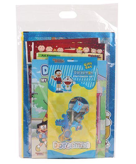 Doraemon Stationery Set Combo - Blue