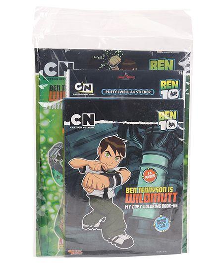 Ben 10 Stationery Gift Set Combo - Green