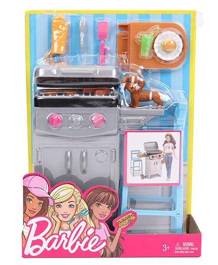 Barbie Backyard BBQ - Grey Blue