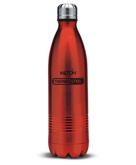 Milton Thermosteel Duo Bottle Red - 500 ml