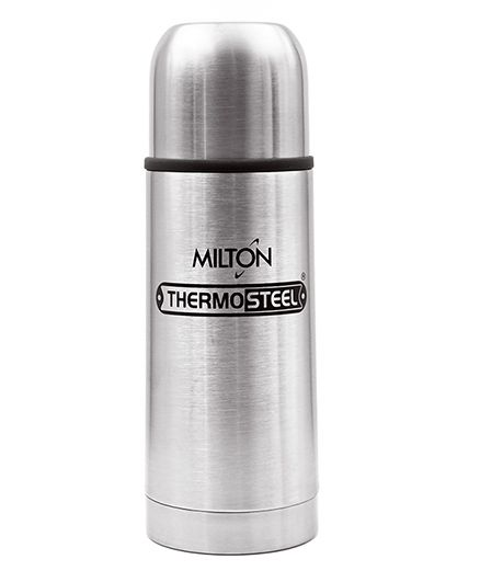 Milton Thermosteel Flip Lid Flask Silver - 350 ml