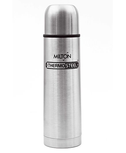 Milton Thermosteel Flip Lid Flask Silver - 500 ml