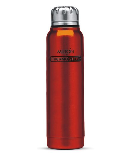 Milton Thermosteel Slender Insulated Bottle Red - 500 ml