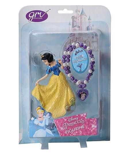 Disney Princess Snow White Figurine With Necklace - 11.5 cm
