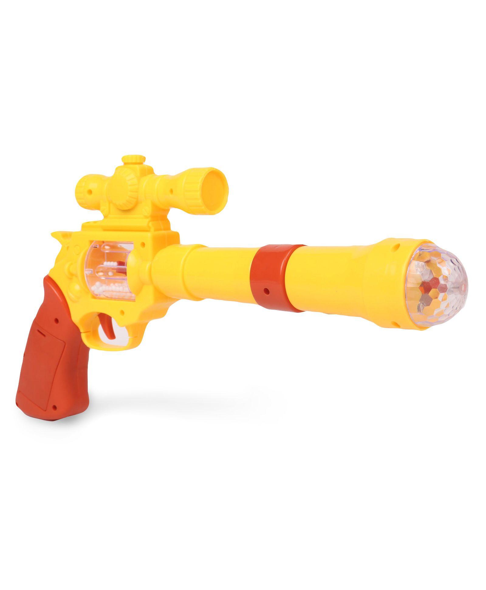 Playmate Pirate Gun With Light And Sound - Yellow Dark Orange