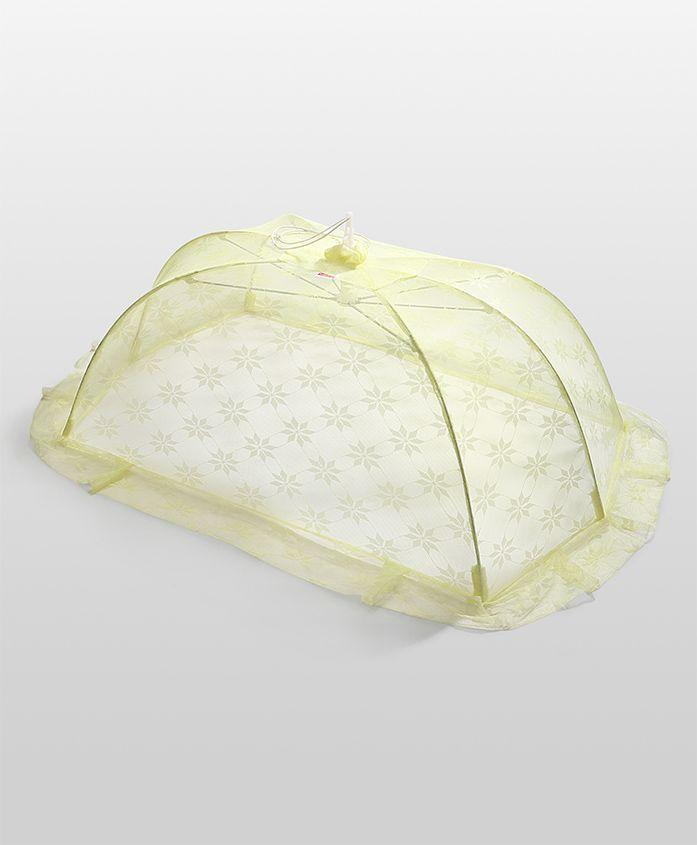 Babyhug Star Design Mosquito Net Medium - Yellow