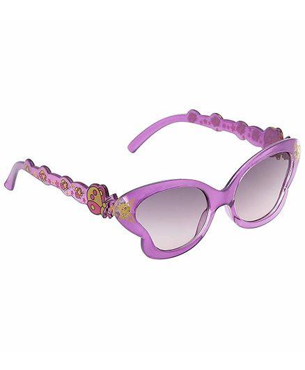 Miss Diva Smart Butterfly Sunglasses - Purple