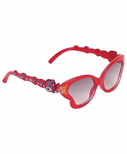 Miss Diva Smart Butterfly Sunglasses - Red