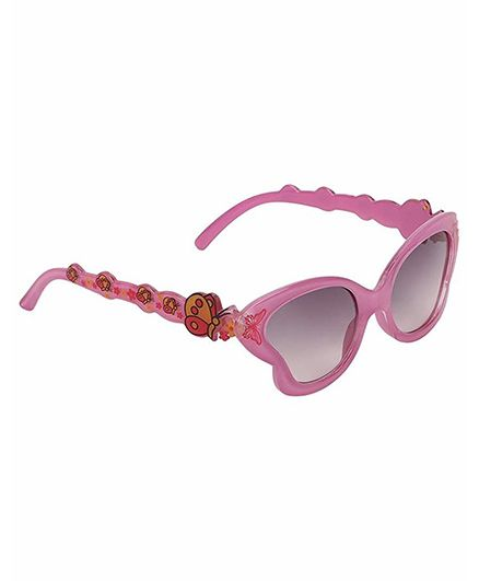 Miss Diva Smart Butterfly Sunglasses - Pink