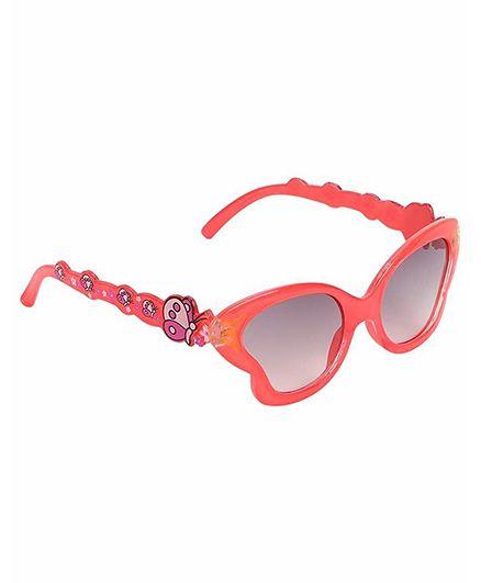 Miss Diva Smart Butterfly Sunglasses - Orange