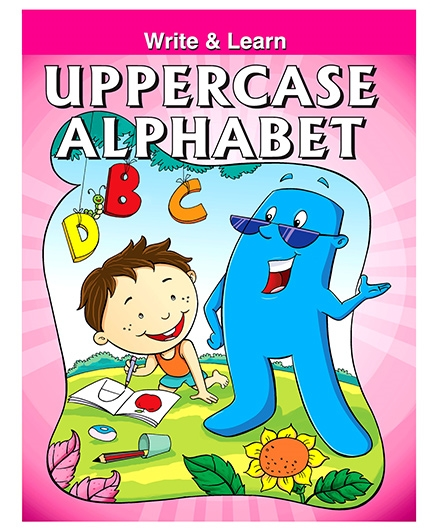 Write And Learn Uppercase Alphabets - English