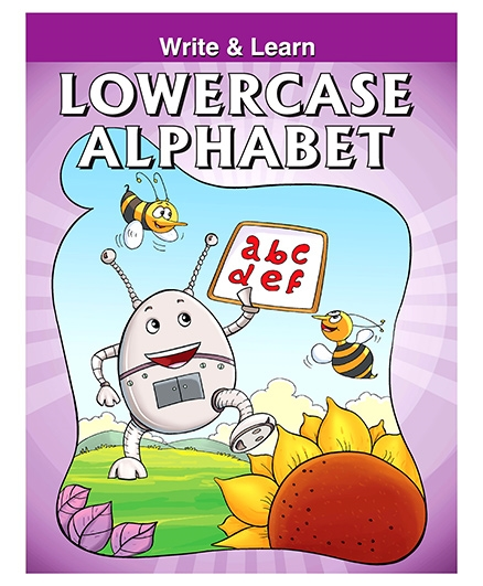 Pegasus Write And Learn Lowercase Alphabets - English